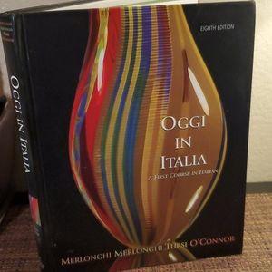 Oggi In Italia, First course,  Text Book